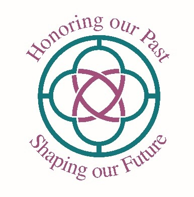 Vision Campaign Logo symbol and the words Honoring our Past Shaping our Future
